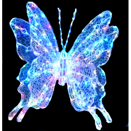 LED Butterfly Sculpture Lights