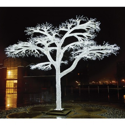 LED Crystal Sculpture Lighted Tree