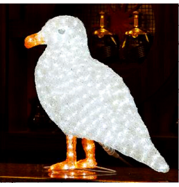 LED Dove Sculpture Lights