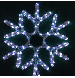 LED Snowflake Motif Lights