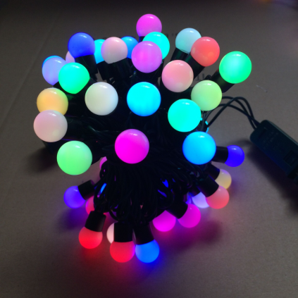 RGB G18 Globe LED Christmas Lights