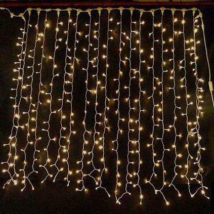 LED Curtain Christmas Lights