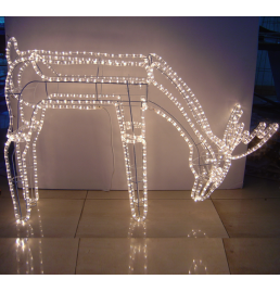 LED Deer Motif Lights
