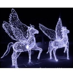 LED Pegasus Motif Lights