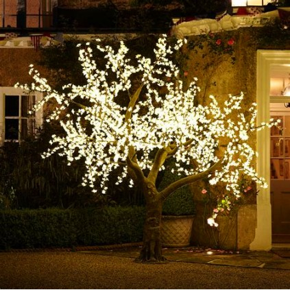 Warm white LED Cherry Blossom Tree Lights