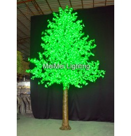 Green Maple LED Lighted Tree