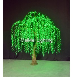 Green Willow LED Lighted Tree