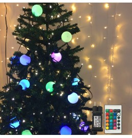 Color changeable G45 Globe LED String Lights