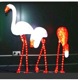 LED Flamingo Sculpture Lights