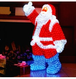 LED Santa Claus Sculpture Lights