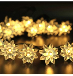 Battery Powered LED Lotus Lights