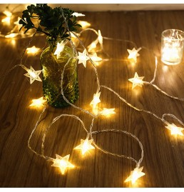 Battery Powered LED Star Lights