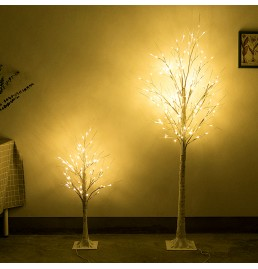Indoor LED Birch Tree Light