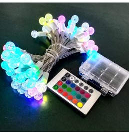 16 Colors Battery Powered LED String Lights