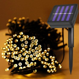 100LED solar LED String Lights