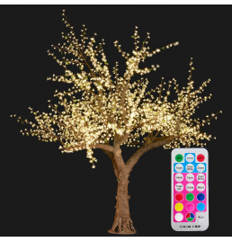 Color changing LED Cherry Blossom Tree