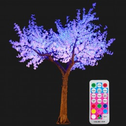 Color changing LED Maple Tree