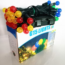 Battery Powered G15 LED String Lights