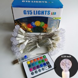 RGB USB G15 LED String Lights