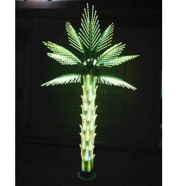 Color changing LED Palm Tree Lights