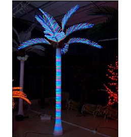 Color changing LED Coconut Tree Lights